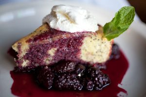 Dessert at Cassidy's Restaurant in Portland Oregon